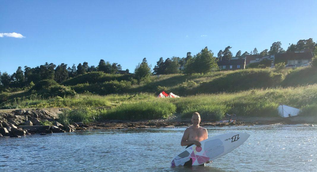 Vannscooter Norge Kite surfer reddet